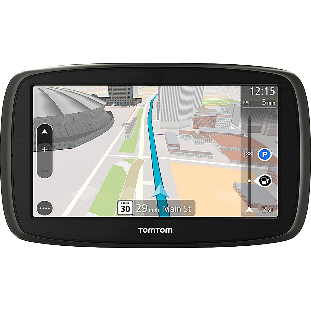 TomTom 40 S Portable Navigation Touchscreen 4.3 in. display GPS, Black by TomTom