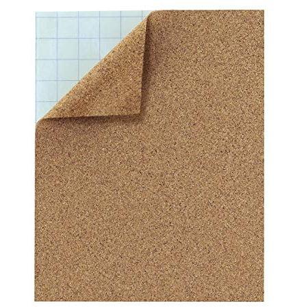 Hygloss 2 Self-Adhesive Cork Sheets, 8 5