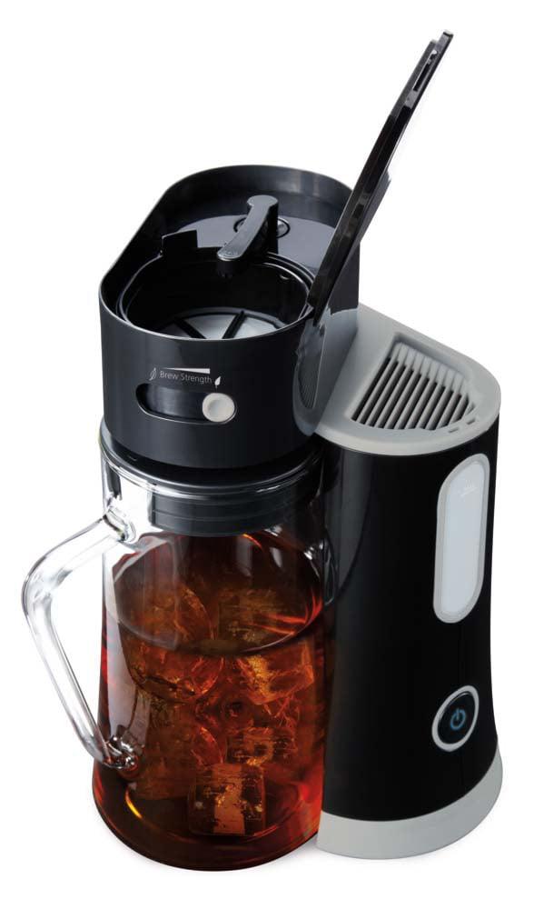 Mr Coffee Bvmc Tm33 Tea Cafe Iced Tea Maker Black Walmart
