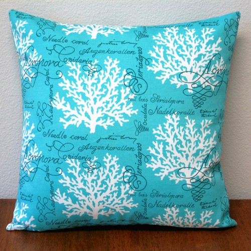 Artisan Pillows Sea Reef Pillow Cover (Set of 2) by Overstock