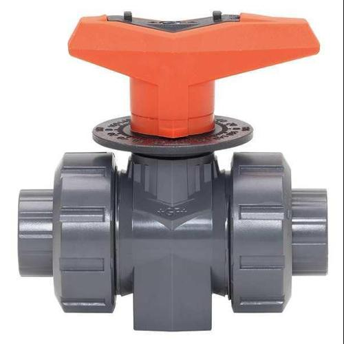 """Gf Piping Systems PVC Metering Ball Valve 1/2"""", 161523522"""