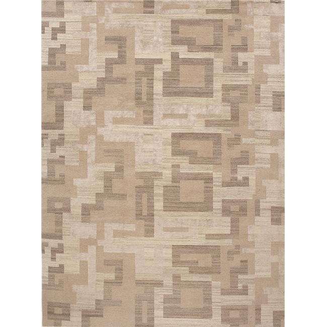 Due Process Stable Trading Elemental Natural Block Frost Area Rug, 4 x 6 ft. - image 1 of 1