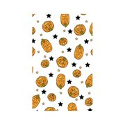 Make N Mold 5040H3 Small Halloween Pumpkin Favor Bags with Ties, Pack of 12