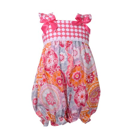 Girls' Clothing (newborn-5t) 3-6month Bubble By Bonnie Baby