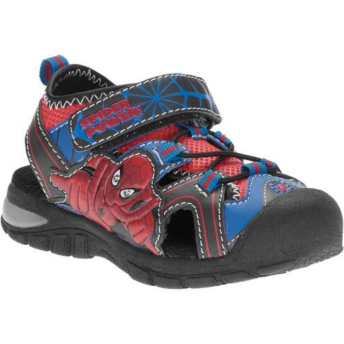 Marvel Toddler Boys' Spiderman Light-Up Sandals