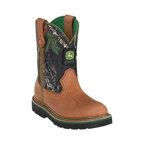 Boys' John Deere Boots Camo Wellington 1188 by Johnny Popper