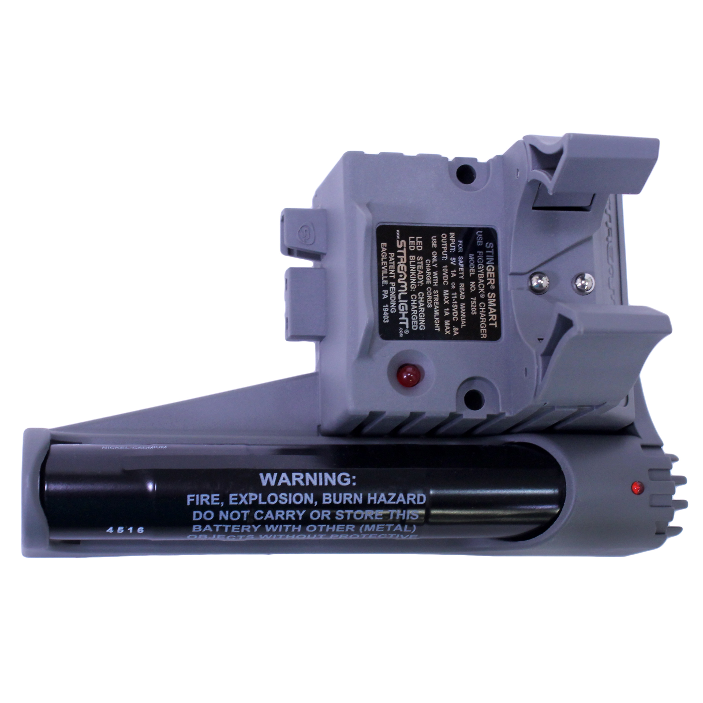 Streamlight Stinger Piggyback Smart Chargr Holder with Battery by Streamlight