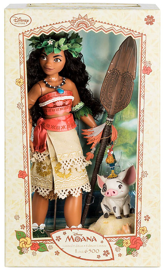 Disney Moana Moana with Pua Doll [Limited Edition of 6500] by
