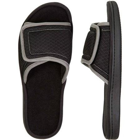 cadcafeb3ece Dearfoams - Dearfoams Men s Memory Foam Mesh Slide Sandal Slippers  (X-Large