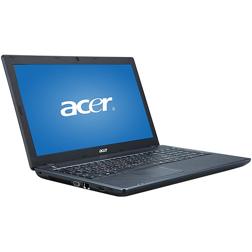"Acer Black 15.6"" TravelMate TM5744-384G32Mtkk Laptop PC with Intel Core i3-380M Processor and Windows 7 Professional"