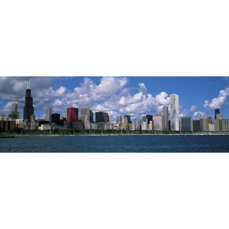 clouds, chicago, illinois, usa print wall art by panoramic images ...