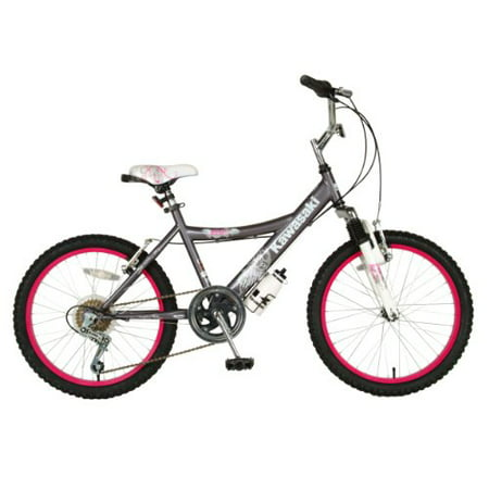 Kawasaki Kid's Bike, 20 inch Wheels, 12 inch Frame, Girl's Bike,