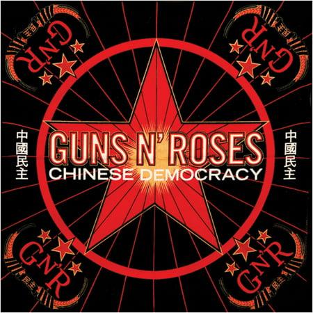 Roses Bandanas - Guns N Roses Chinese Democracy Bandana Black