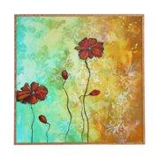 Deny Designs Poppy Love Framed Art Print Madart Inc Wall Art