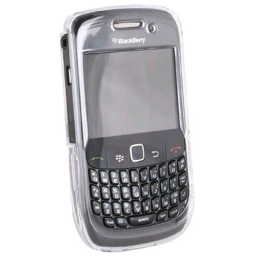 Wireless Xcessories Protective Shield Case for BlackBerry 8520 (Clear)