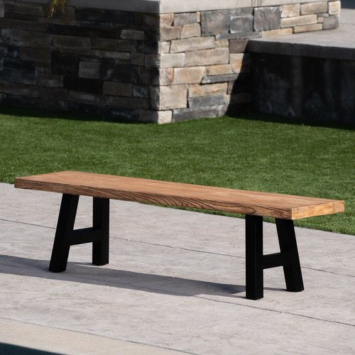 Williston Forge Uppingham Light Weight Concrete Picnic Bench