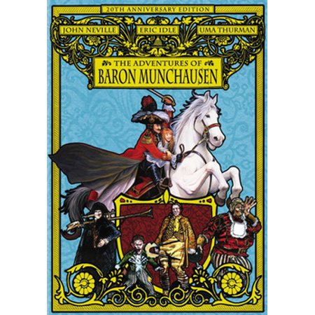 The Adventures of Baron Munchausen (DVD)