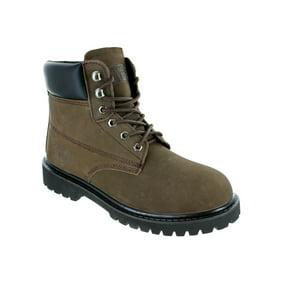 fila men's landing steel m walking shoe, wheatespressogum, 9.5 m us