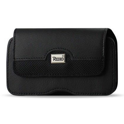 Leather Treo Smartphone - HORIZONTAL POUCH PALM TREO 650 BLACK (WITH RETAIL PACKAGE)