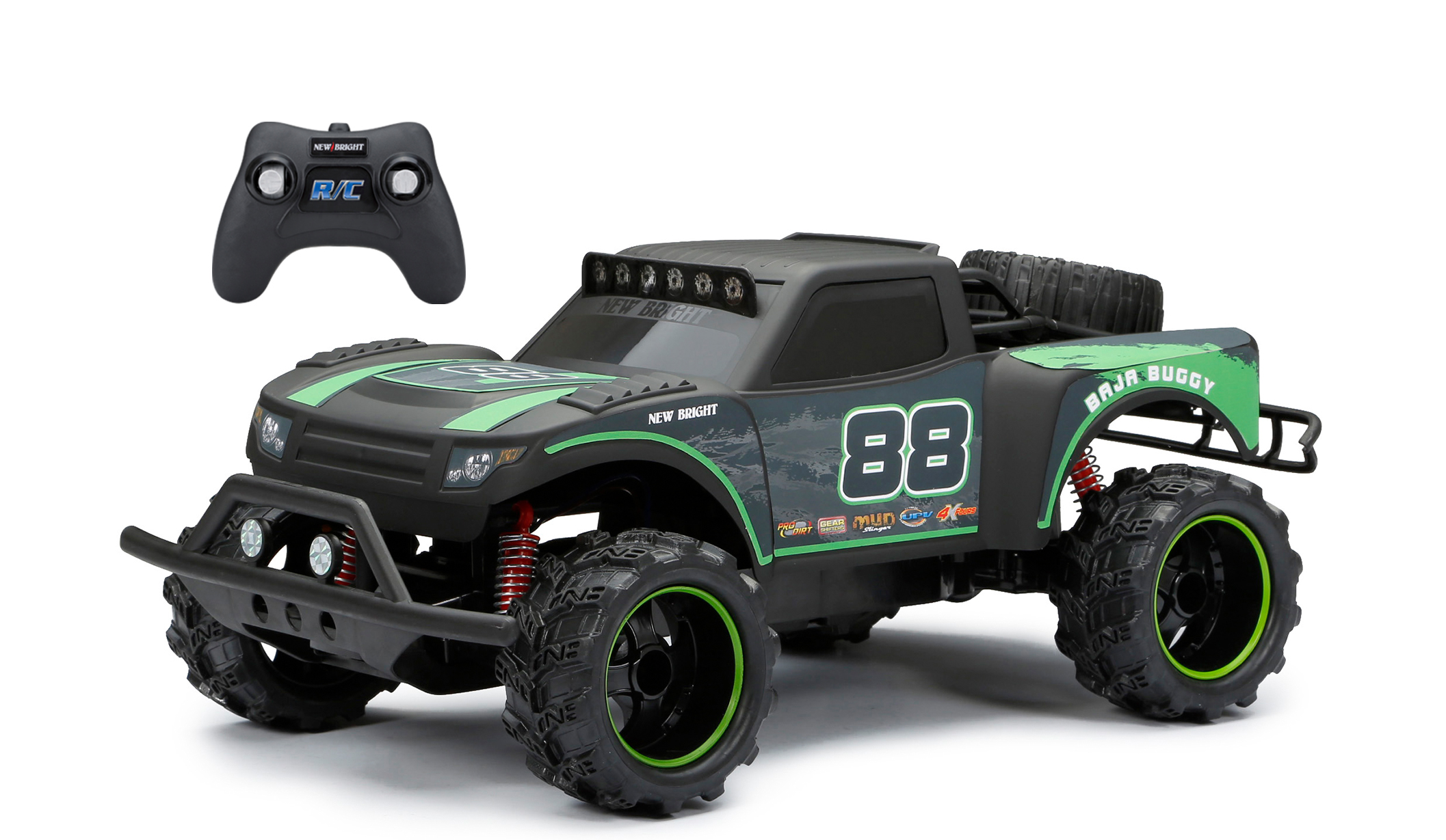 New Bright 1:14 Radio Control Baja Trophy Buggy Black by New Bright Industrial Co., Ltd.