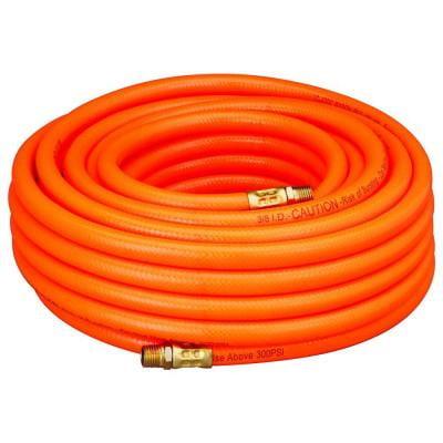 3 8 x 100 Foot Orange PVC Flexible Air Hose