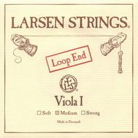 """Larsen up to 16.5"""" Viola A String - Medium Gauge - Alloy Wound Steel Core - Loop End"""