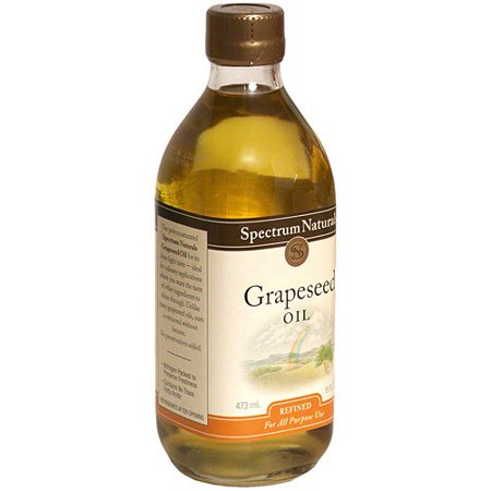 Spectrum Naturals Grapeseed Oil, 16 oz (Pack of 6) California Grape Seed Oil