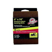 ALI INDUSTRIES 3186 2Pack 4x24 80Grit Sanding Belt