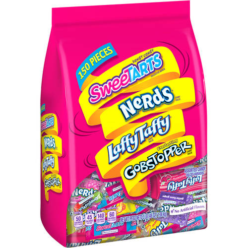 Wonka Assortment Bag, 150 Pcs, 48 Oz