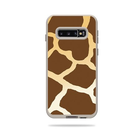 Skin For Lifeproof Fre Case Samsung Galaxy S10 - Giraffe | MightySkins Protective, Durable, and Unique Vinyl Decal wrap cover | Easy To Apply, Remove, and Change Styles - Giraffe Wrap Bar