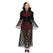Black Widow Vampire Adult Costume - Plus Size 1X/2X