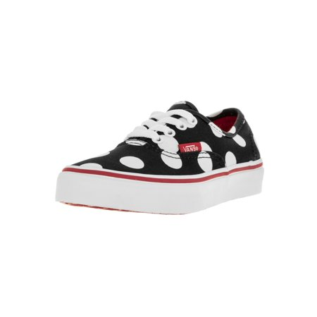 Vans Kids Authentic (Polka Dots) Skate Shoe (Polka Dot Vans Shoes)