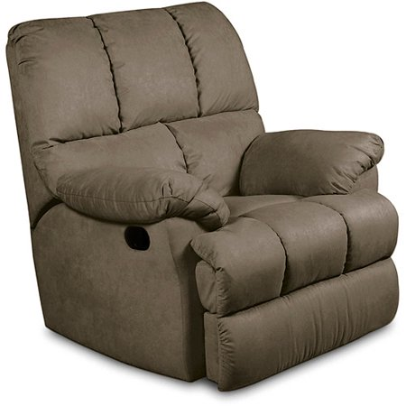 Massaging Recliner Chair Beige Walmart Com