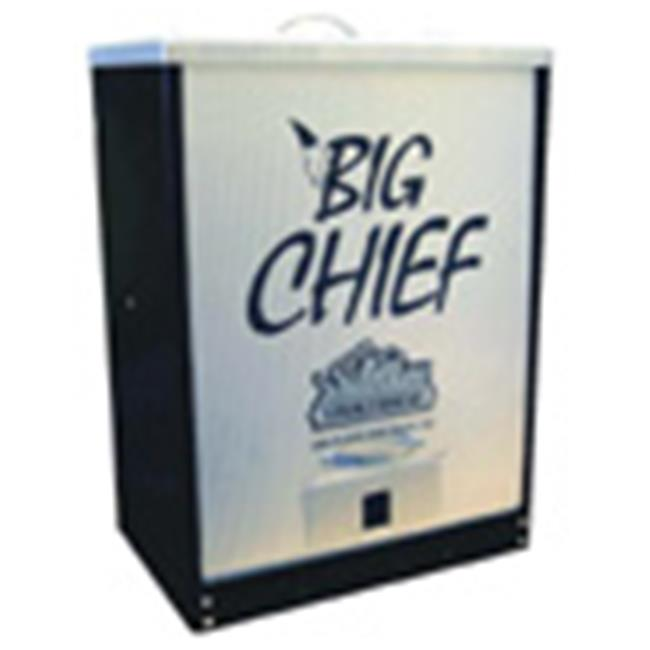 Smokehouse Products 9894-000-BLCK Black Big Chief Front Load Smoker