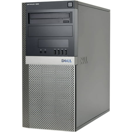 Refurbished Dell 960 Desktop PC with Intel Core 2 Duo Processor, 4GB Memory, 1.5TB Hard Drive and Windows 10 Pro (Monitor Not Included) (Jsm Computers)