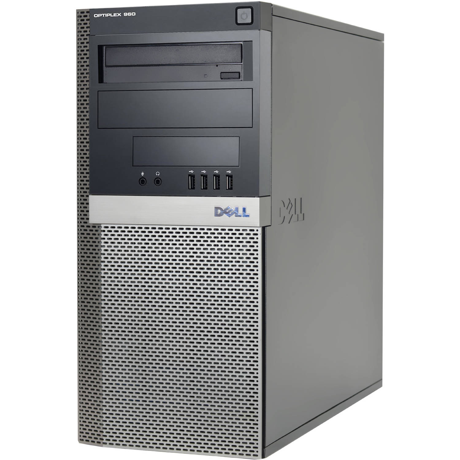 Refurbished Dell 960 Desktop PC with Intel Core 2 Duo Processor, 4GB Memory, 1.5TB Hard Drive and Windows 10 Pro (Monitor Not Included)