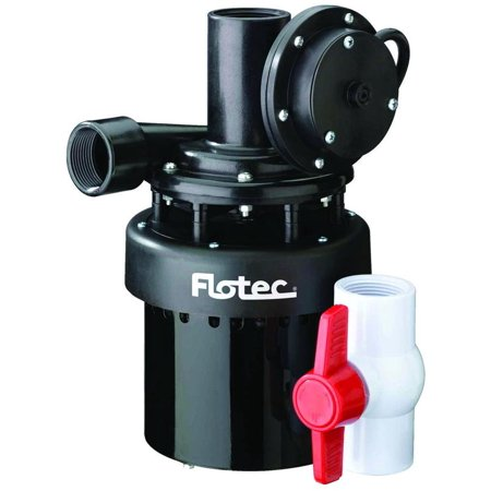 Flotec Fpus1860a Automatic Utility Sink Pump  1 4 Hp  Stainless Steel  10 Ft Maximum Head  10   77 D