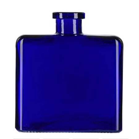 COBALT BLUE 8.5 Ounce Matic Glass Vase  - Courtneys Candles