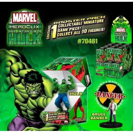 Incredible Hulk 1 For Sale (Marvel HeroClix: Incredible Hulk Single Blind Figure (1), Marvel heroclix,collectible miniatures games,family games,superheroes,heroclix. By)