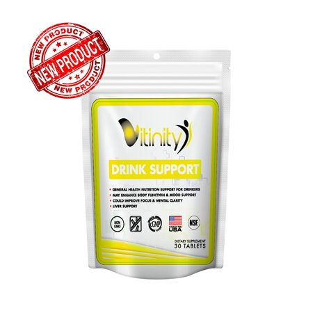 Anti Alcohol Drink Support Supplement - Craving Support, Liver Health, Reduce Intake Formula - Kudzu, Milk Thistle, Holy Basil, NAC for All Natural Detoxify, Gradual Reduction, and Stopping - 15