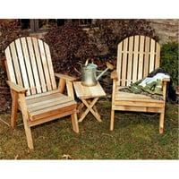 Creekvine Designs WF2130CVD Cedar Fanback Patio Chair by Creekvine Designs