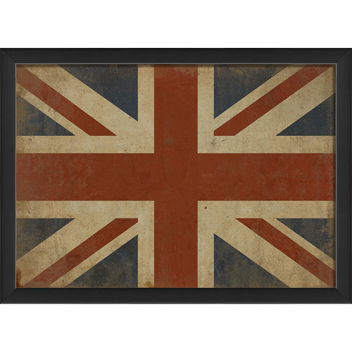 The Artwork Factory Union Jack III Framed Graphic Art
