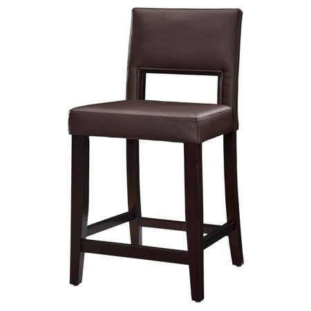Linon Vega Counter Stool 24 Inch Seat Height Multiple Colors