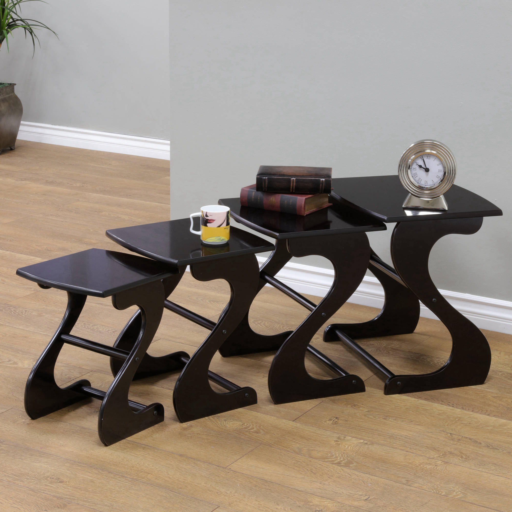 Home Craft 4-Piece Nesting Tables