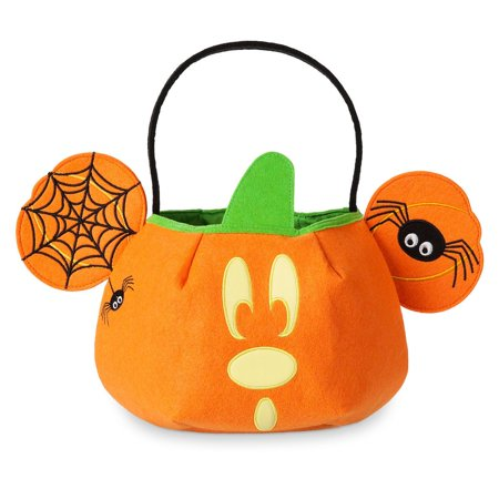 Disney Halloween Trick or Treat Mickey Mouse Bag Glows in the Dark New with Tags - Mickey Treat Bags