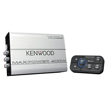 Kenwood KAC-M1824BT Compact 400-Watt Bluetooth-Connected 4-Channel (Vox Vintage Amps)