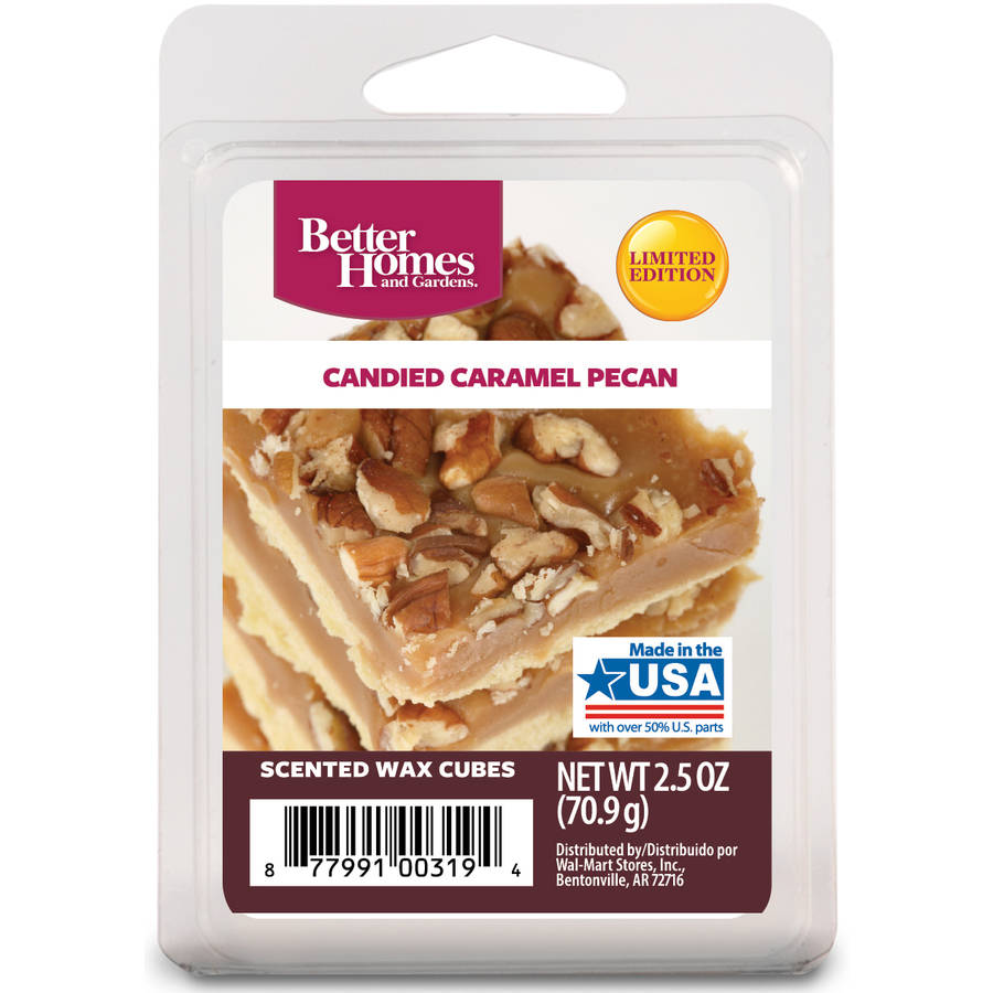 Better Homes and Gardens Wax Cubes, Candied Caramel Pecan