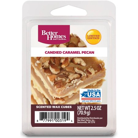 Better Homes And Gardens Wax Cubes Candied Caramel Pecan