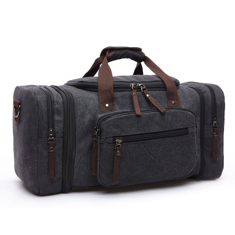 Men Vintage Canvas Travel Bag Tote Luggage Gym Duffle Bag Handbag Weekend Bag by