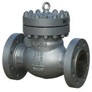 NEWCO Swing Check Valve,Carbon Steel,6 In. 06-33F-CB2